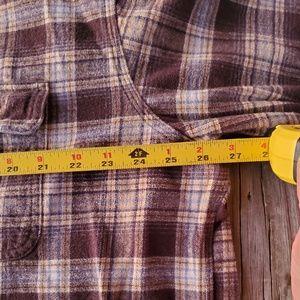 Carhartt Shirts - Carhartt Plaid Cotton Button up 2XL
